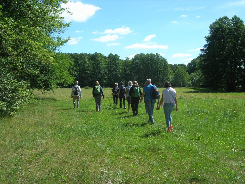 Fastenhof - Wanderung in der Natur beim Fasten-Aufenthalt